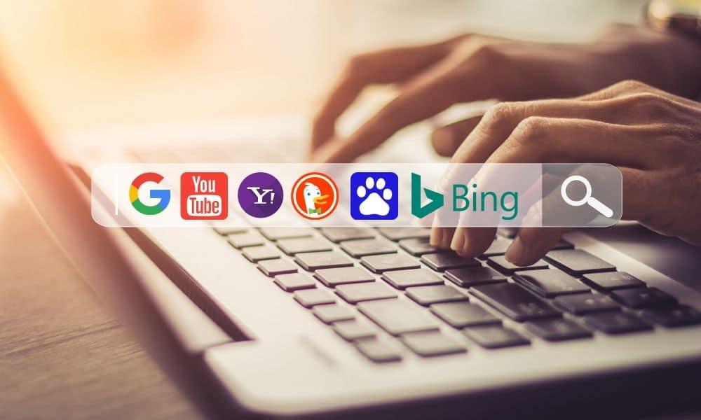Hvad er en søgemaskine: Google, YouTube, Bing, Yahoo, DuckDuckGo